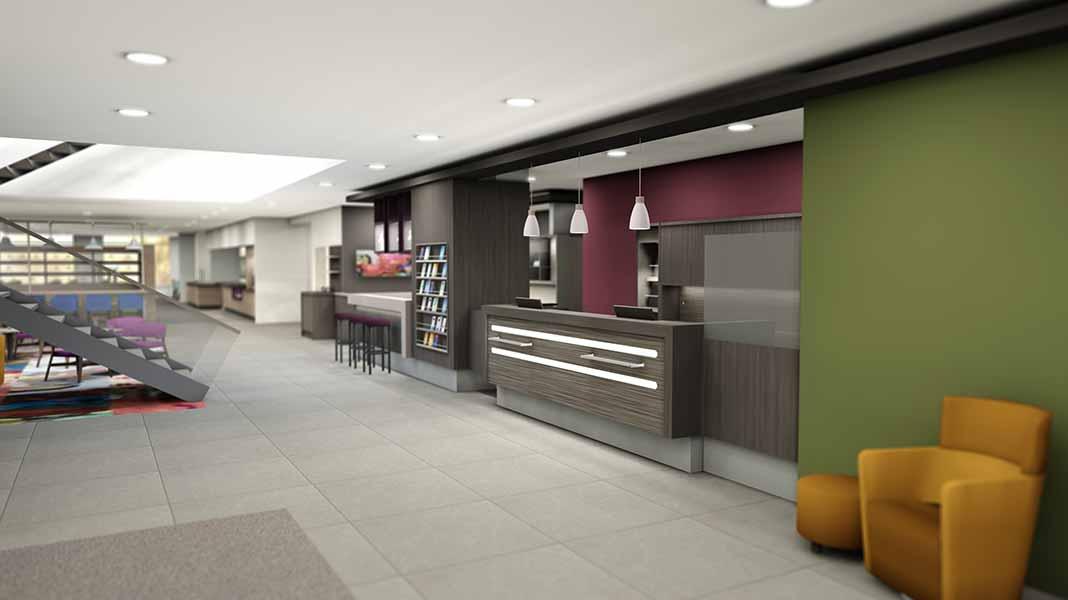 Innenausbau im Park Inn Hotel Neumarkt hat begonnen